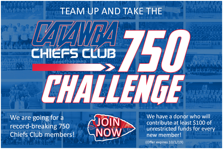 Catawba Chiefs Club 750 Challenge