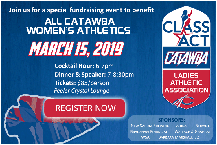CLASS Act Fundraising Event for Women's Athletics at Catawba College